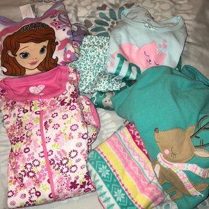 Other - Toddler girl pjs